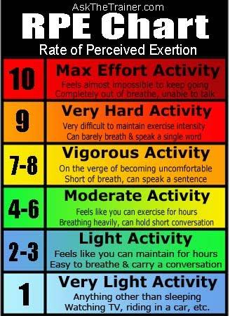 Determining Exercise Intensity (3/5)